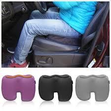 siege en forme de pcs u en forme de siège de voiture couvre coussin mémoire coton