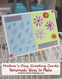 mother u0027s day greeting cards homemade ideas to make holidappy