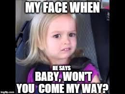 Meme Girl Face - unimpressed little girl imgflip