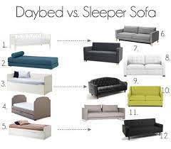 couch vs sofa the daybed vs sleeper sofa debate