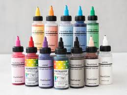 chefmaster 12 pc airbrush color set craftsy