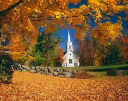 New England Usa Map by A New Hampshire Church In Autumn Visions Of The Past Pinterest