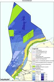 North Sea Map Marine Spatial Planning In The Dutch Part Of The North Sea