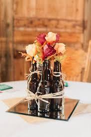 used wedding centerpieces best 25 bottle centerpieces ideas on bottle