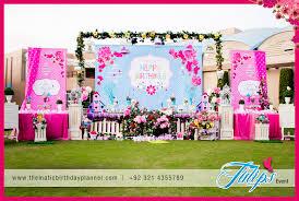 sweet garden party theme arrangements ideas in pakistan