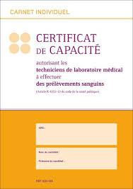 certificat de capacitã de mariage carnet individuel certificat de capacité certificat de capacité