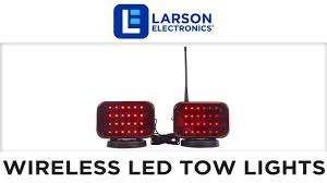 wireless tow light bar wireless led tow lights battery operated 30 foot wireless