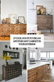 27 cool ways to use an apothecary cabinet in your interior digsdigs