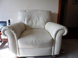 Cream Leather Armchairs Furniture Wooden Bun Feet Wooden Bun Feet Perfect For Adding