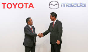 toyota bank login toyota and mazda will work together to build evs