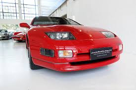 red nissan sports car 1990 nissan 300zx red classic throttle shop