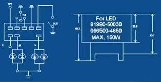 motor vehicle steering flasher basic circuit electrical diagram