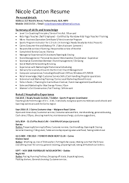 Retail Assistant Resume Example Sales Assistant Resume 12 Useful Materials For Hotel Sales