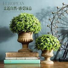 usd 13 25 creative simulation green plant pot ornaments shelf