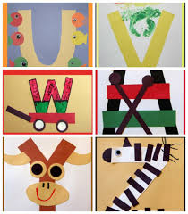 a to z cute letter of the week crafts for preschoolers craft
