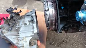 kia sedona 2 9 crdi j3 engine gearbox installation part2 youtube
