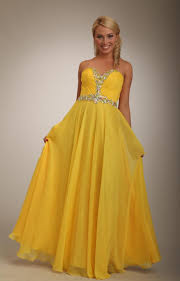 alluring yellow prom dresses for stylish girls outfit4girls com