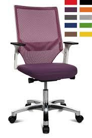 chaise de bureau violette fauteuil ergonomique de bureau autosynchrone hanau