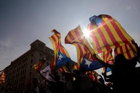 The Flag In Spanish From Kitchen To Soccer Pitch Catalonia Crisis Opens Old Spanish