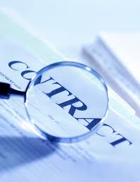 publishing government contracts addressing concerns and easing