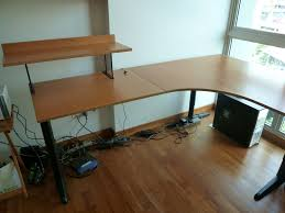 Office Table L L Shape Office Table Greenville Home Trend L Shape Table