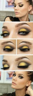 faddish yellow eye makeup tutorial