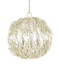 Modern Sphere Chandelier White Branch Sphere Chandelier The Designer Insider