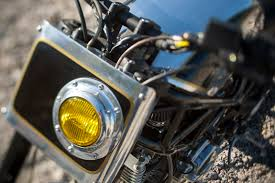 Dirt Bike Led Light Bar by Flat Front Number Plate W Built In Led Headlight Triumph Forum