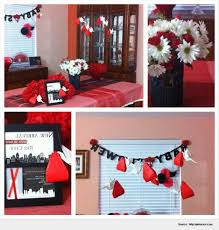 most inspiring red and black baby shower decorations pic home
