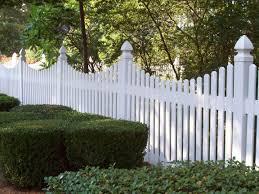 monroe saddle cut vinyl picket fence by mossy oak fence pvc