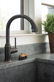 brass best kitchen faucets consumer reports wide spread two handle