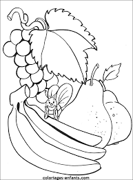 dessin orange fruit az coloriage