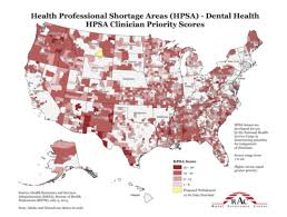 louisiana hpsa map the of dental hygienists in providing access to health