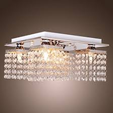 Crystal Ceiling Mount Light Fixture by Lightinthebox Crystal Ceiling Light With 5 Lights Electroplated