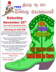 cowboy christmas 2017 penn valley area chamber of commerce