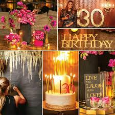 30th birthday decorations 30th birthday party theme ideas fiestas 30th