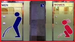 Mens And Womens Bathroom Signs 25 Funny Bathroom Signs Youtube