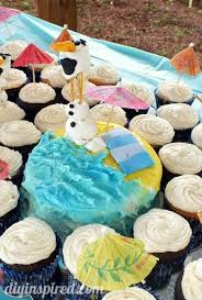 frozen birthday party ideas diy inspired