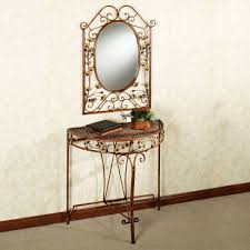 Hallway Console Table And Mirror Ginkgo Console Table And Mirror Thesoundlapse