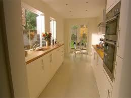 Victorian Kitchens Designs by Kitchen Idea Long Narrow Kitchen Design With Window Over Sink