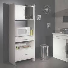 meuble cuisine micro onde meuble desserte micro ondes l70xp40xh180cm simply blanc regarding