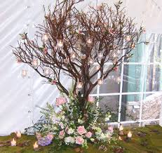 manzanita tree centerpieces wedding flowers and special event flowers by phillip s florist chicago