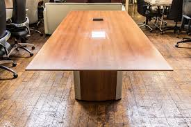 4 X 8 Conference Table Nienker Vox 8 X 3 5 Cherry Laminate Tapered Edge
