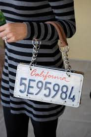 Pennsylvania travel purses images License plate purse i so want one of these but pa plates or jpg