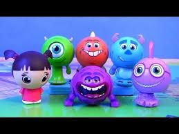 disney roll scare monsters university surprise pop toys