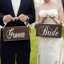 Bridal Shower Chair Chicinlife 1set Bride And Groom Photo Props For Wedding Party