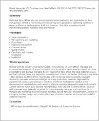 Resume Examples It by Resume Store 21 Sample For Manager Pertaining To Samples It Retail