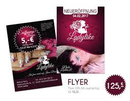 flyer design preise flyerdesign 2 seitig für dein weibliches auftretten leƨigna