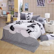 100 cotton bed linen mickey and minnie mouse bedding sets