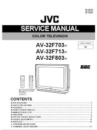 Av32f703 Service Manual High Voltage Power Supply